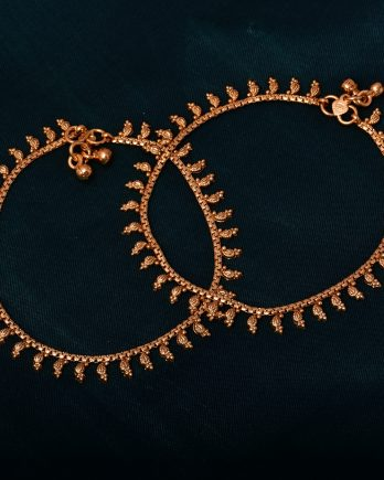 Gold Plated Handmade Traditional Anklet