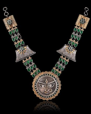 Goddess Temple Necklace & Earrings Set