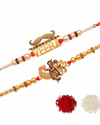 Lord Kanha and Veera Rakhi for Brother
